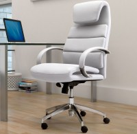 20 elegant and sleek white office chairs for modern offices