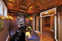 Faux tin ceiling tiles ideas  decorate your home creatively