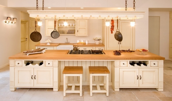 Butcher Block Countertops Warmth And Appeal Provided By
