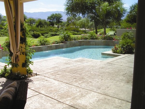 30 Beautiful Stamped Concrete Patios Ideas And Lovely