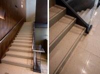 Glamorous terrazzo tile flooring designs for interior