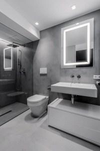 LED light fixtures - tips and ideas for modern bathroom ...