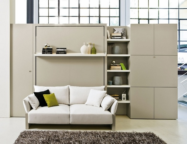 Schrankbett Mit Sofa Clei Murphy Bed Couch – Practical And Multifunctional Modern