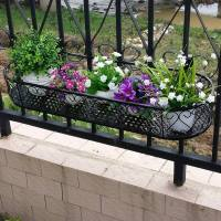 Space saving balcony planters  clever ideas for small ...