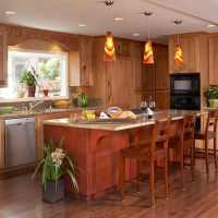 Kitchen island lighting ideas  contemporary pendant lamps ...