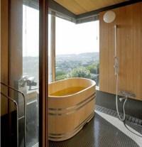 Japanese bathroom design  the exotic beauty of minimalism