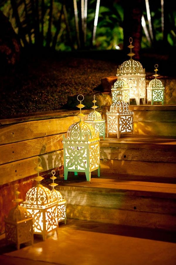 Cozy Fall Hd Wallpaper Fascinating Garden Decoration With Moroccan Lanterns