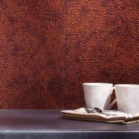 Copper backsplash for a distinctive kitchen with unique ...