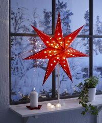 Adorable Christmas window decorations and some craft ideas