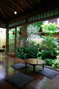 Japanese style house interior  how to create a balanced ...