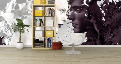 Teen bedroom wall decoration ideas – cool photo wallpapers and decals