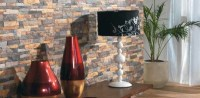 Stone wall tile design ideas  accent wall designs in ...