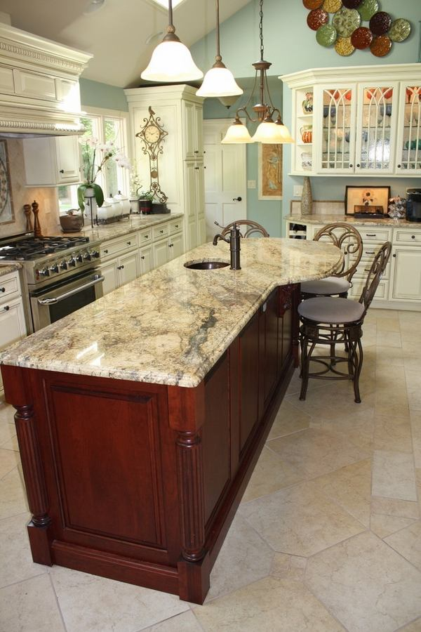 Yellow River Granite Countertops A Unique Feature In