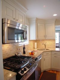 Corner kitchen sink  efficient and space saving ideas for ...