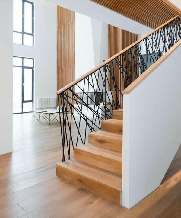 Treppen Innenraum Stair Railing Ideas – Beautiful Designs From Wood And Metal