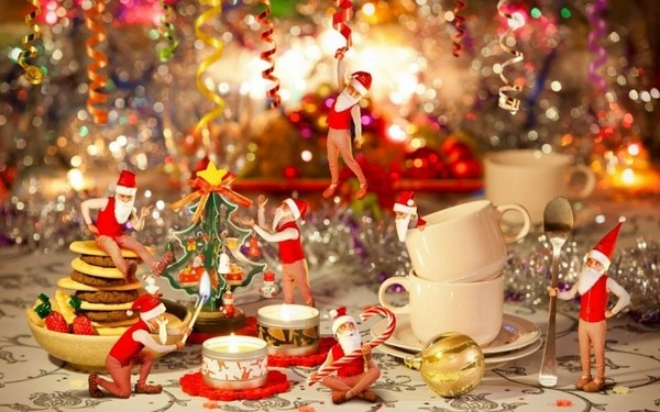The best Christmas table decorations \u2013 55 ideas for a glamorous table