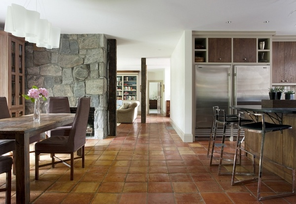 Saltillo Tile Floors Indoor And Outdoor Flooring With A