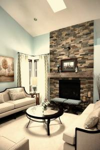 Airstone fireplace  a focal point in every room | Deavita