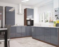 Trendy grey kitchens  charismatic modern and elegant ...