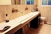 Double trough sink for bathroom  how to choose the best