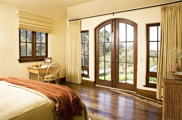 How To Choose The Ideal Elegant French Door Curtains For