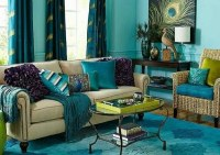 Turquoise curtains - great ideas for modern decoration in ...