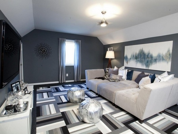 Gray Carpet For The Living Room A Perfect Match For