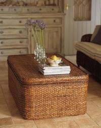 How to use a wicker trunk  20 creative ideas for your ...