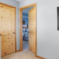 Knotty pine doors  beautiful solid pine wood interior doors