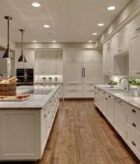 Chalk paint kitchen cabinets  creative kitchen makeover ideas