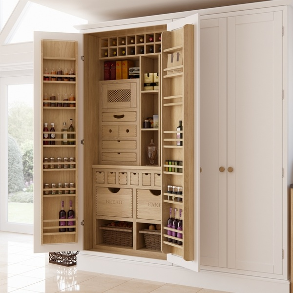 Kitchen pantry storage solutions  organizers and shelving