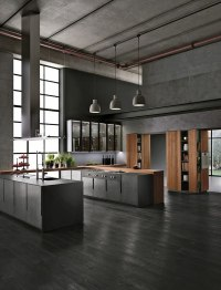 Italian kitchen cabinets  modern and ergonomic kitchen ...