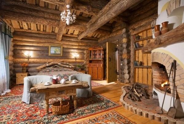 Log Cabin Interiors Beautiful Rustic Design And