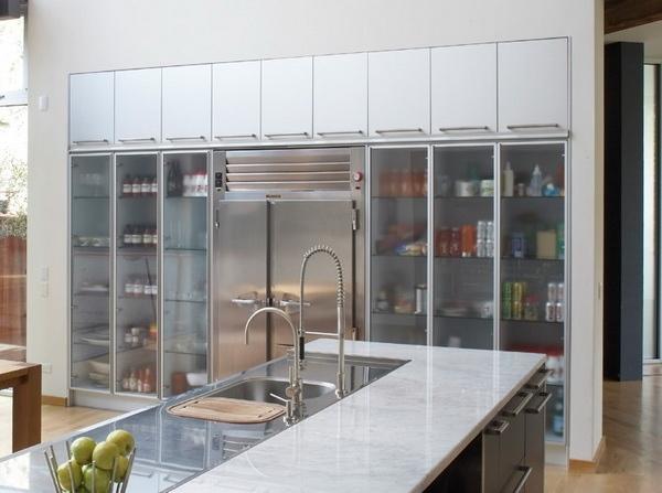 Glass Kitchen Cabinet Doors Modern Cabinets Design Ideas