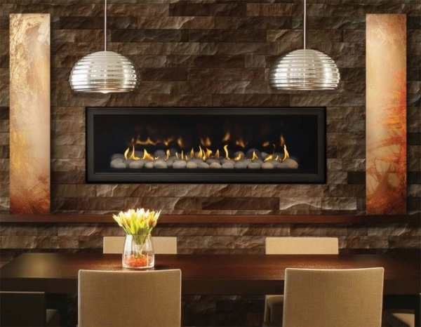 Chic Linear Fireplace Ideas Modern Fireplaces With Great Visual Appeal