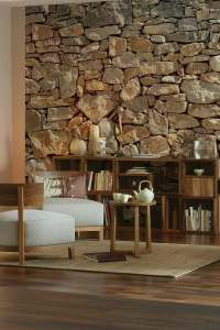 Interior Stone Wall Ideas - Home Design