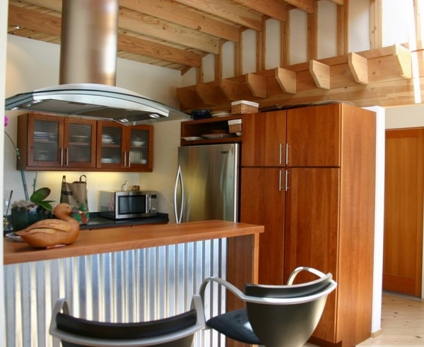 Corrugated Metal Kitchen Island Corrugated Metal In Interior Design – Creative Ideas For
