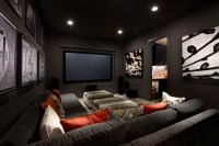 Media room seating ideas  how to choose the best furniture