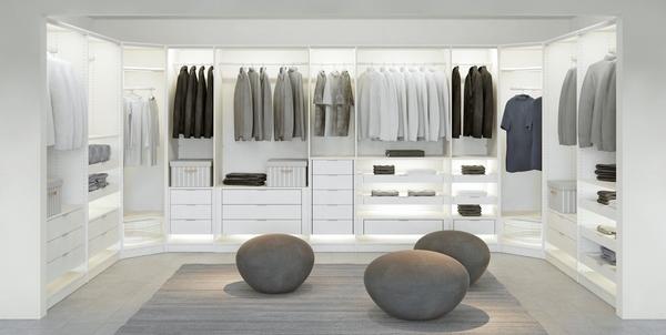 Minimalist closet design ideas \u2013 contemporary walk in closet ideas