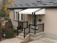 Porch awnings ideas  how to choose the best protection ...