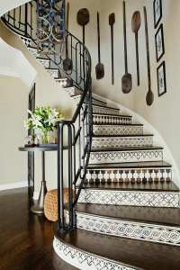 Decorative stair risers  make a statement with your
