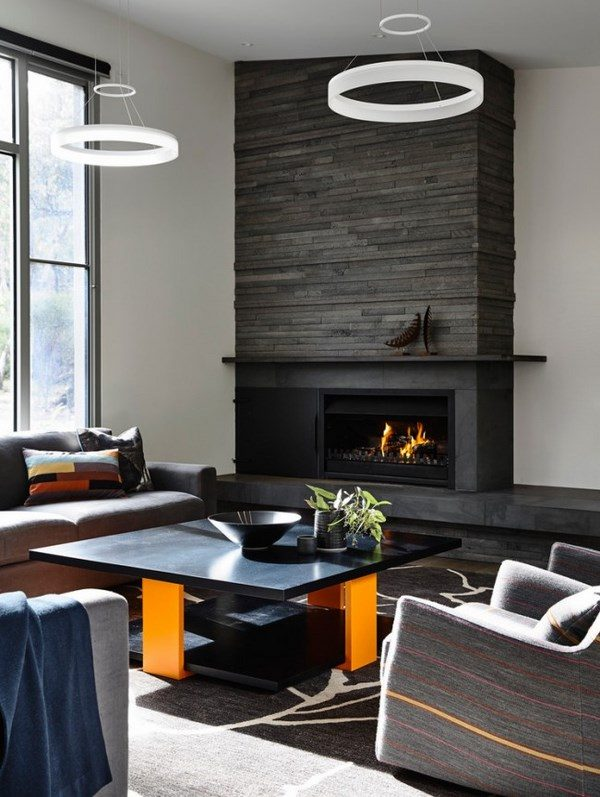 Modern fireplace ideas  types, styles, accessories