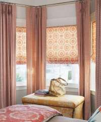 Bay window curtain ideas  give your bay window a ...