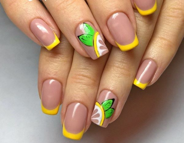 Summer French Nails Trends And Nail Art Ideas For The