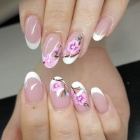 Cherry blossom nail art ideas  spring and summer manicure ...