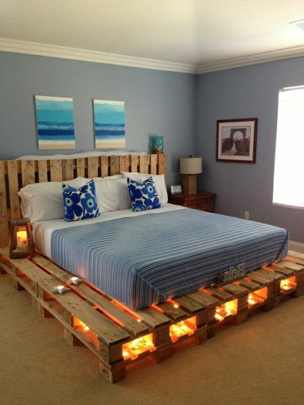 Bettrahmen Selber Bauen Diy Pallet Bed Frame – Fantastic Bedroom Furniture Design