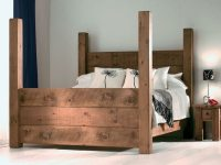 Solid wood bed frame  wood species pros and cons and ...