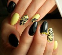 Top nails 2018  trends, fashionable colors and nail art ideas