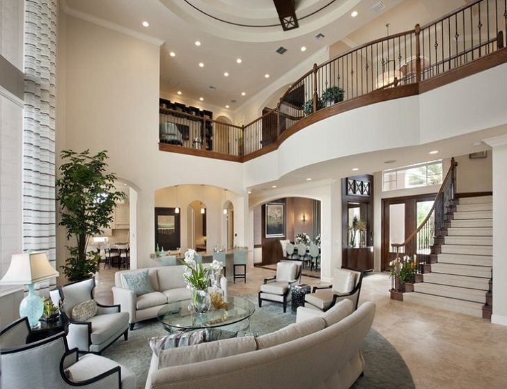 Mansion living room  design ideas, styles and decoration tips