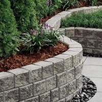 Cheap retaining wall ideas  choosing materials for garden ...